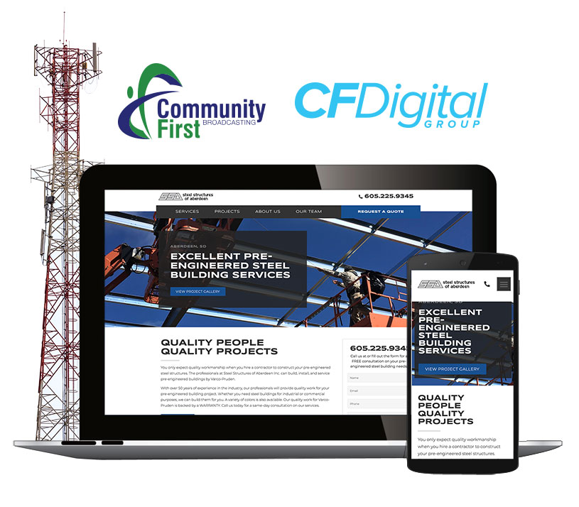 Community First Broadcasting and CF Digital Group
